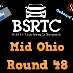 iRacing BSRTC Round 48 from Mid Ohio