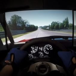 Assetto Corsa - Mustang 1969 @ Nordschleife - Onboard Triple Screen Gopro
