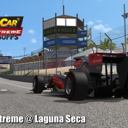 Formula Extreme @ Laguna Seca Driver's View - Stock Car Extreme 60FPS