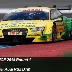 DTM Experience 2014: Round 1: Hockenheim
