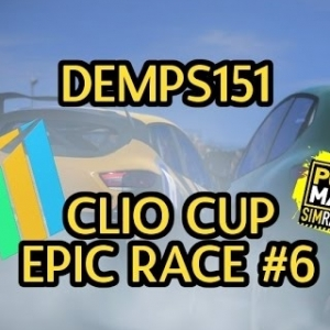 Project Cars: Epic Race #6: Clios Cup Fun