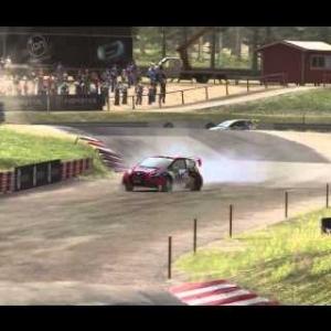 DiRT Rally - Rallycross - Höljes, Sweden - Ford Fiesta WRX (External Cams)