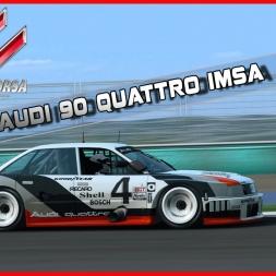 Assetto Corsa - Audi 90 Quattro IMSA GTO @ BATHURST