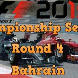 F1 2015 Championship Season Round 4 - Bahrain