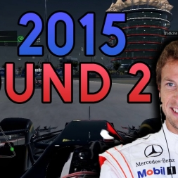 FIRST POINTS?! | F1 2015 Custom Career Mode - Bahrain