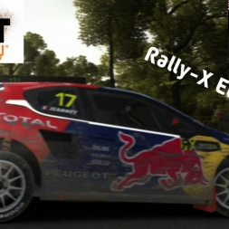 """DiRT Rally: Rally-X Etiquette"" (Peugeot 208 RX at Great Britain RX - Lydden Hill)"