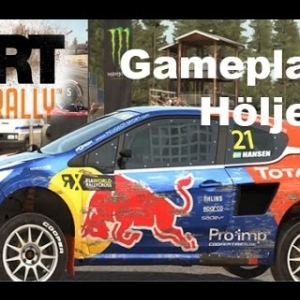 DiRT Rally - Rallycross Gameplay - Höljes Sweden