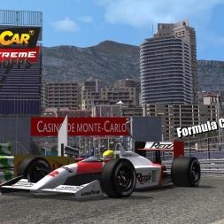 Formula Classic @ Monaco Driver's View - Stock Car Extreme 60FPS
