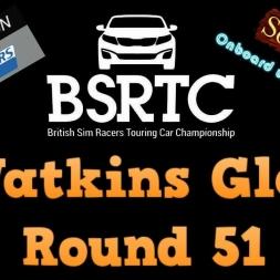 iRacing BSRTC Round 51 from Watkins Glen