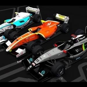 Assetto Corsa Formula Renault 3.5 at Spa