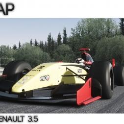 Assetto Corsa   Hotlap Spa - Formula Renault 3.5 -   2:00.542
