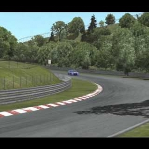 Nordschleife 24 Rfactor 2 Multiplayer 60 min race. 15 drivers.
