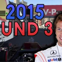 MENTAL MONACO! | F1 2015 Custom Career Mode - Monaco