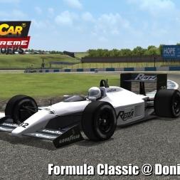 Formula Classic @ Donington Park Driver's View   Stock Car Extreme 60FPS