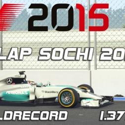 F1 2015 Hotlap Sochi 2014 + Setup - 1.37,959 (Worldrecord) [PC]