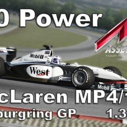 Assetto Corsa McLaren MP4/13 Hotlap Nürburgring GP 1.38,725