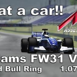 Assetto Corsa Williams FW31 V1.01 Hotlap Austria 1.07,585