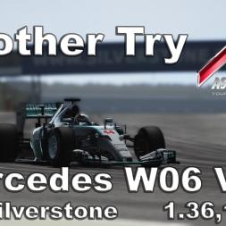 Assetto Corsa Mercedes W06 V1.2 Hotlap Silverstone 1.36,181