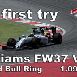 Assetto Corsa Williams FW37 V1.1 Hotlap Austria 1.09,089