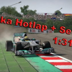 F1 2013 Hotlap Suzuka with Setup (1:31,938)
