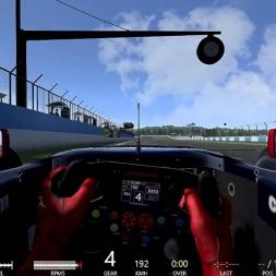 The Howling Formula Renault 3.5 At Donington Park GP Layout