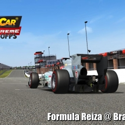 Formula Reiza @ Brands Hatch Driver's View   Stock Car Extreme 60FPS