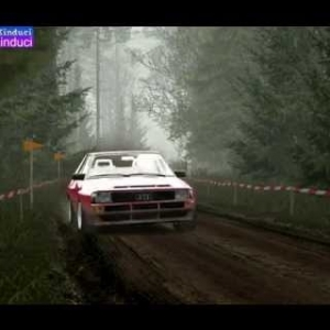 Assetto Corsa Forest Rally Stage 2 in the Audi Quattro