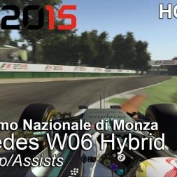 F1 2015 - Hotlap - Mercedes W06 Hybrid @ Autodromo Nazionale di Monza