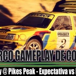 [TRC87] DiRT Rally @ Pikes Peak - Expectativa vs Realidade