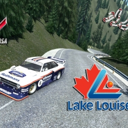 Assetto Corsa * Lake Louise * Stage Crow uphill * Ford Escort mk2 Gr5 Turbo
