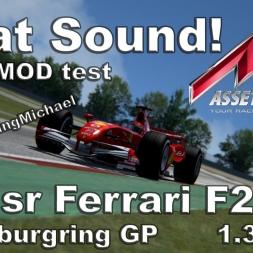 Assetto Corsa - F1sr Ferrari F248 Hotlap Nürburgring 1.32,398