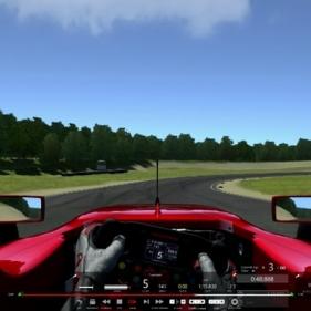 Assetto Corsa:  Formula Renault 3.5 @ Bridgehampton, Driver's View