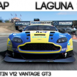 Project Cars - Hotlap Laguna Seca | Aston Martin GT3  - 1:22.327 + Setup