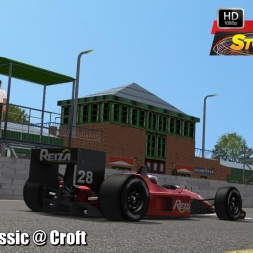 Formula Classic @ Croft Driver's View - Stock Car Extreme 60FPS