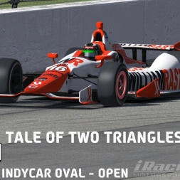 """""""iRacing: Tale of Two Triangles"""" (DW12 at Pocono Raceway - Open Setup)"""