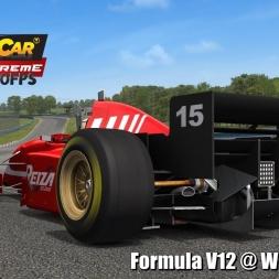 Formula V12 @ Watkins Glen Driver's View - Stock Car Extreme 60FPS