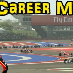 F1 2015 Career Mode: Part 16 - USA