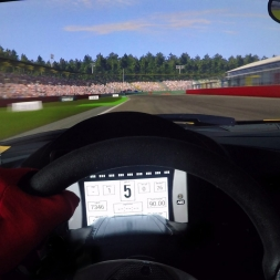 Project Cars - Audi R8 LMS Ultra @ Hockenheim - Onboard Triple Screen Gopro