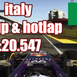 italy 1:20.547 online setup | F1 2015