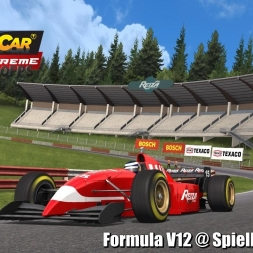 Formula V12 @ Spielberg Historic Driver's View - Stock Car Extreme 60FPS