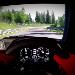 Assetto Corsa - Nissan Skyline R34 @Nordschleife - Onboard Triple Screen