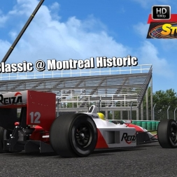 Formula Classic @ Montreal Historic Driver's View - Stock Car Extreme 60FPS