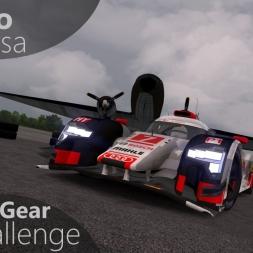 Assetto Corsa Top Gear Challenge #32 - PX1 Aura P18 / Audi R18 TDI