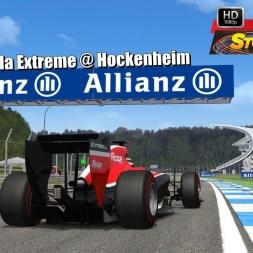 Formula Extreme @ Hockenheim Driver's View - Stock Car Extreme 60FPS