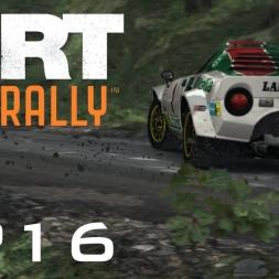 DiRT Rally Gameplay: Damaged Stratos - Episode 16