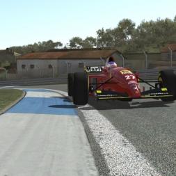 Rfactor 2 Gameplay Ferrari 412T2 @ Estoril (Portugal International 2.0)