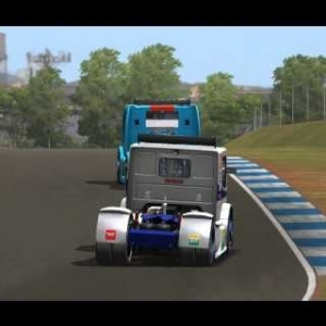 Formula Truck 2013 Londrina Practice Lap.