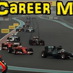F1 2015 Career Mode: Part 19 - Abu Dhabi