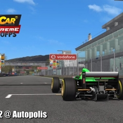 Formula V12 @ Autopolis Driver's View - Stock Car Extreme 60FPS