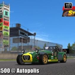 Caterham R500 @ Autopolis Driver's View - Stock Car Extreme 60FPS